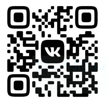 QR-код для обновления дизайна Вконтакте